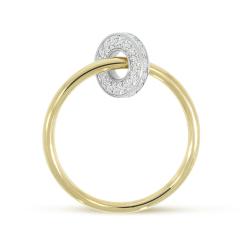La Preziosa -  - Ring - Gelbgold, Weißgold
