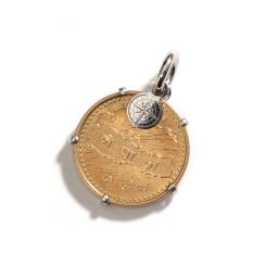 La Preziosa - Coin - Anhänger - Weißgold