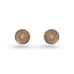 La Preziosa - Coin - Ohrringe - Rosegold