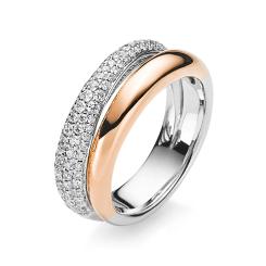 DiamondGroup -  - Ring - Weißgold, Rosegold