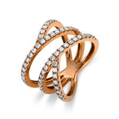 DiamondGroup -  - Ring - Rosegold