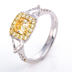 DiamondGroup -  - Ring - Weißgold, Gelbgold