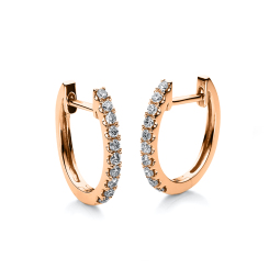DiamondGroup -  - Ohrringe - Rosegold