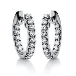 DiamondGroup -  - Ohrringe - Weißgold