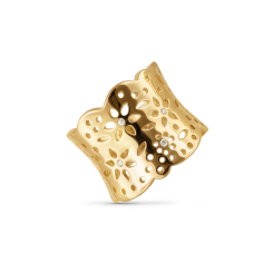 Ole Lynggaard Copenhagen - Lace - Ring - Gelbgold