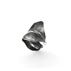 Ole Lynggaard Copenhagen - Large Leaves - Ring - platiniert Ruthenium