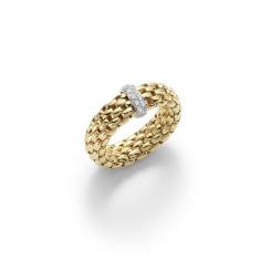 Fope - Flexít Vendome - Ring - Gelbgold, Weißgold