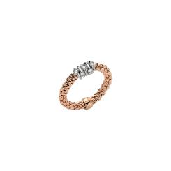 Fope - Flexít Prima - Ring - Rosegold, Weißgold