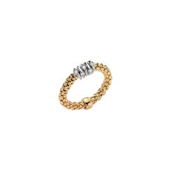 Fope - Flexít Prima - Ring - Gelbgold, Weißgold