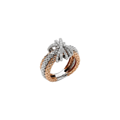 Fope - Mialuce - Ring - Weißgold, Rosegold