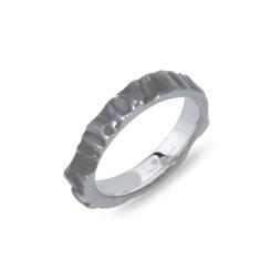 Tiroler Goldschmied -  - Ring - Weißgold platiniert schwarz