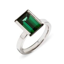 La Preziosa - Green Ocean - Ring - Weißgold