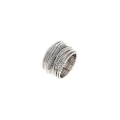 Pesavento - DNA - Ring - platiniert Rhodium