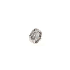 Pesavento - DNA - Ring - platiniert Rhodium