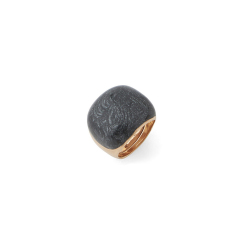 Pesavento -  - Ring - platiniert Gelbgold