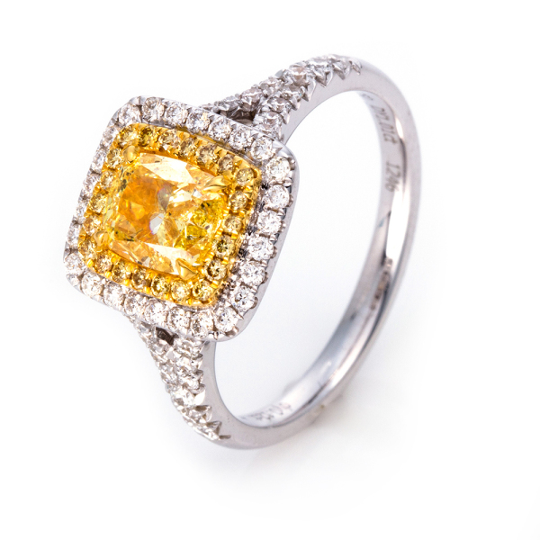 DiamondGroup -  - Ring - Weißgold, Gelbgold