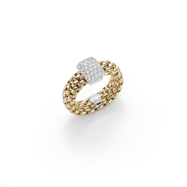 Fope - Flexít Vendome - Ring - Gelbgold, Weißgold