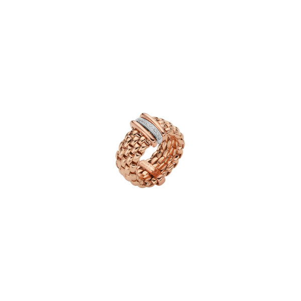 Fope - Flexít Panorama - Ring - Rosegold, Weißgold