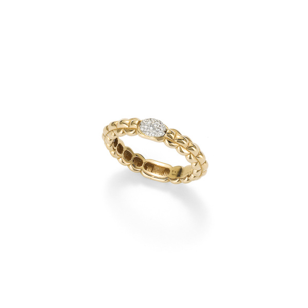 Fope - EKA TINY - Ring - Gelbgold, Weißgold