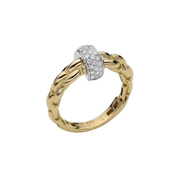 Fope - EKA Anniversario - Ring - Gelbgold, Weißgold