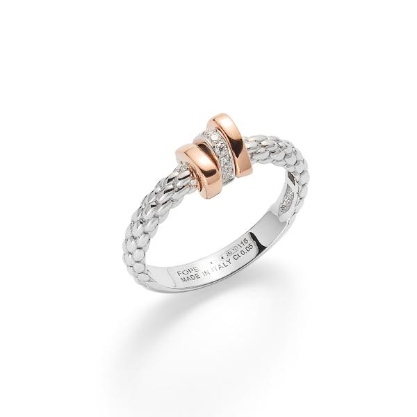 Fope - Prima - Ring - Weißgold, Rosegold