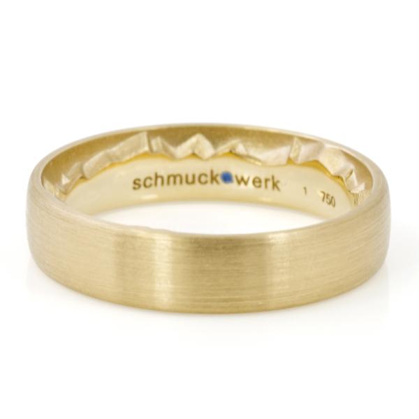 schmuck.werk - Cliff - Ring - Gelbgold