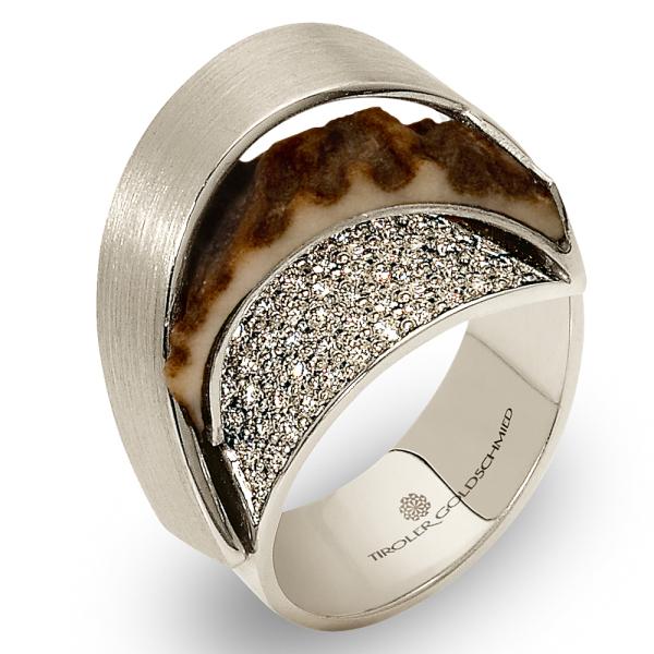 Tiroler Goldschmied -  - Ring - Weißgold