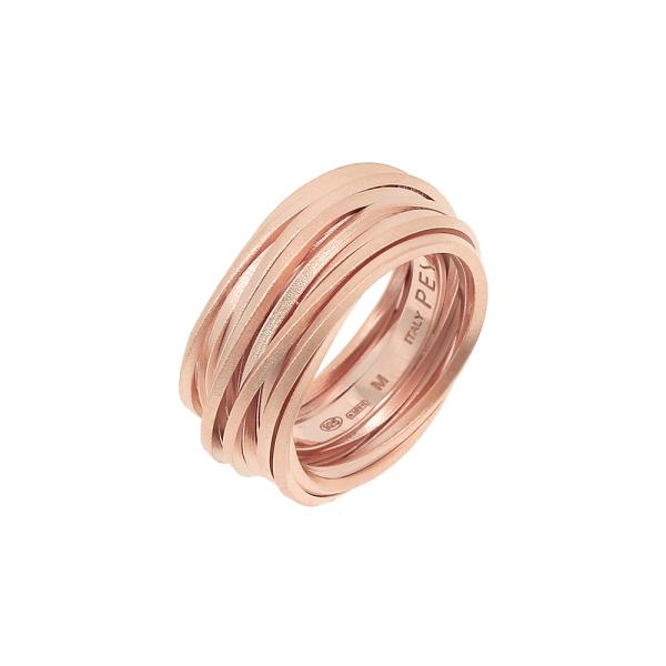 Pesavento - GEO - Ring - platiniert Rosegold