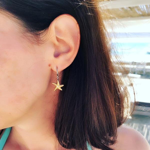 La Preziosa -  - Ohrringe - Rosegold, Weißgold