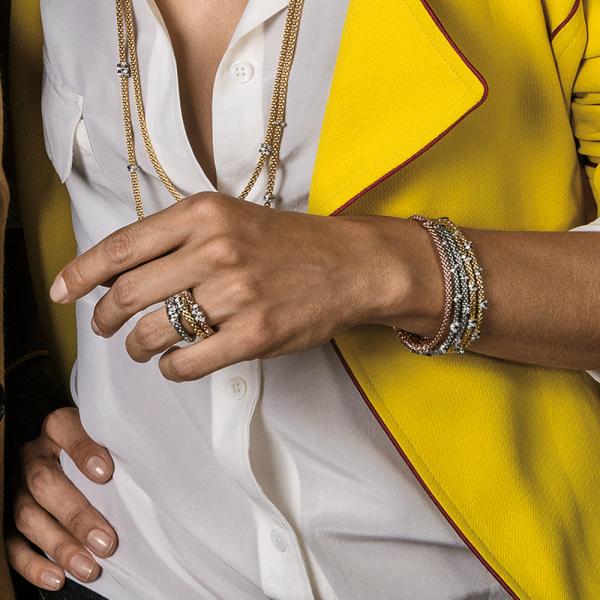 Fope - Flexít Prima - Armschmuck - Rosegold, Weißgold