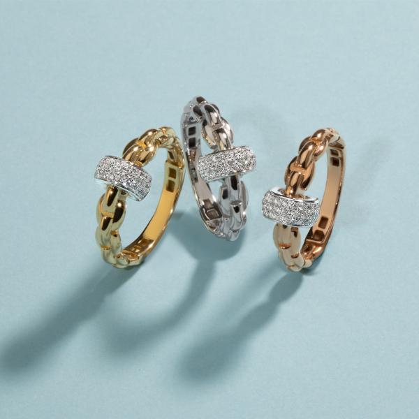 Fope - EKA Anniversario - Ring - Rosegold, Weißgold