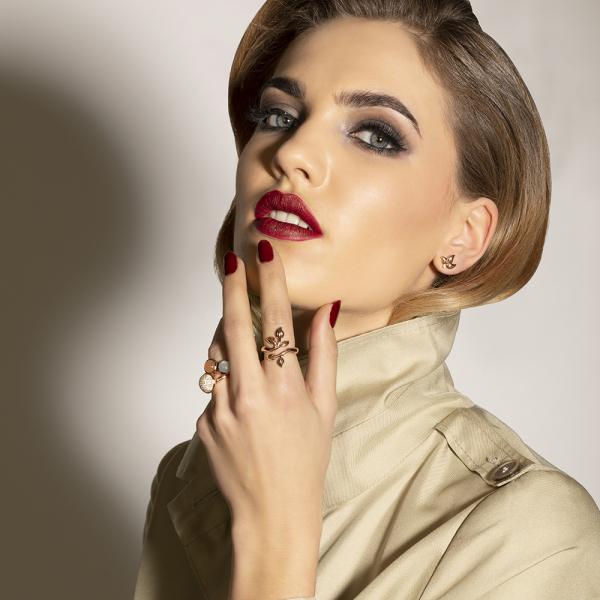 Tamara Comolli - Fairy - Ohrringe - Rosegold