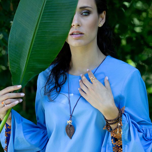 Tamara Comolli - India - Anhänger - Rosegold