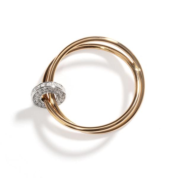 La Preziosa - Allegretto - Ring - Rosegold, Weißgold