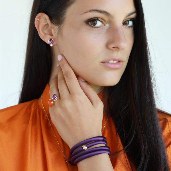 Tamara Comolli - Bouton - Ohrringe - Rosegold