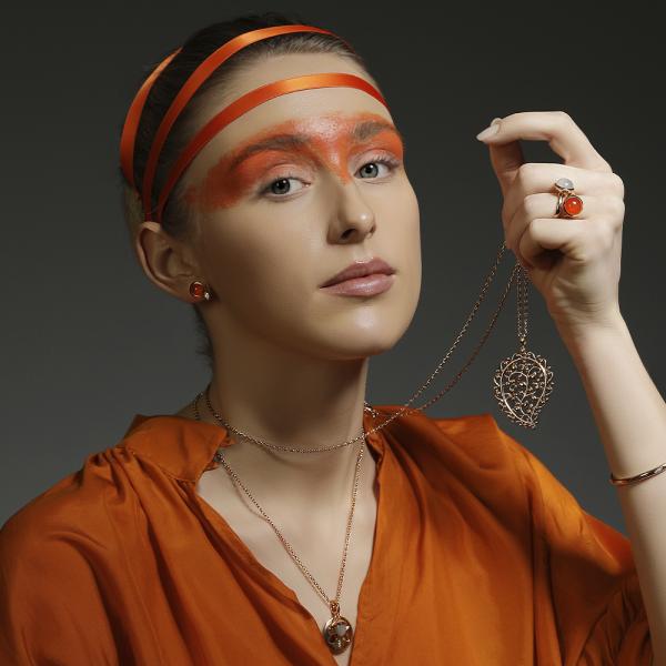 Tamara Comolli - Sanddollar medium - Anhänger - Rosegold